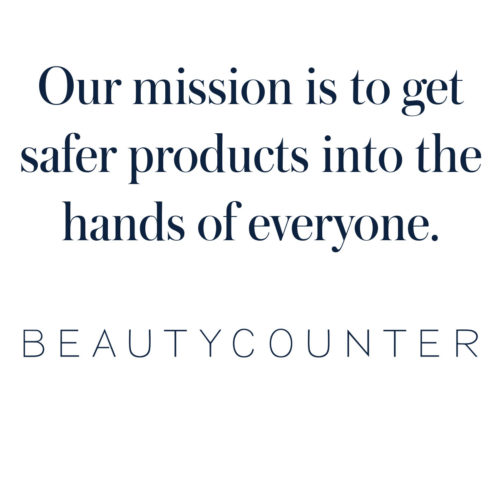Beautycounter mission